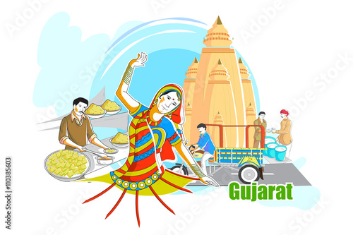 Quot People And Culture Of Gujarat India Quot Stock Image And