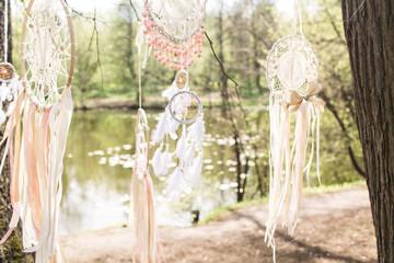 Wedding decoration: Dream catchers