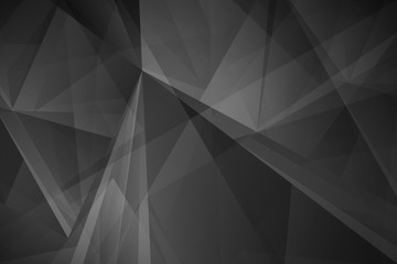 Abstract dark polygonal mosaic background
