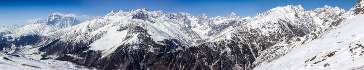 panorama Kaukazu