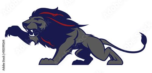 Roaring lion sport logotype