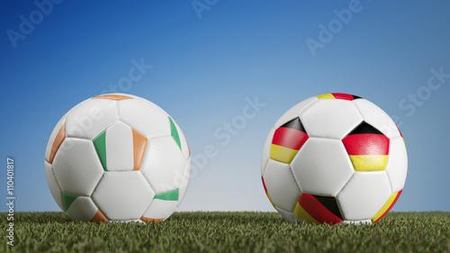 fußball irland gegen deutschland