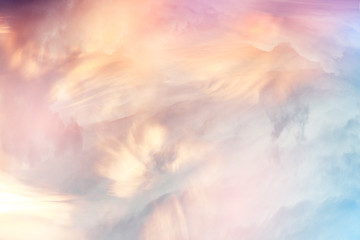 Texture clouds sunset background