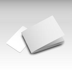 businesscard brochure mockup