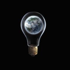 Earth plsnet in bulb