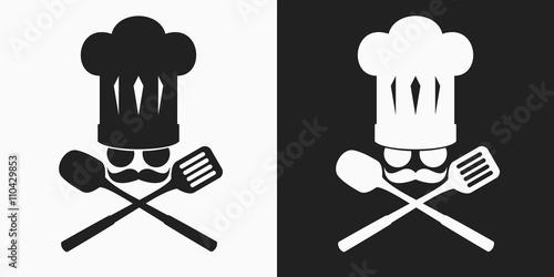 chef logo restaurant logo stock image and royalty free vector