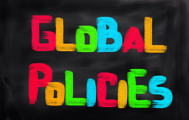 Global Policies Concept