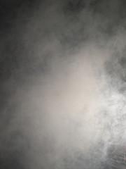 close-up image of dense fog.