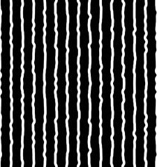 Vertical irregular, hand drawn lines. Repeatable pattern