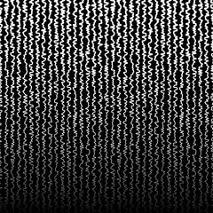 Vertical jagged, irregular lines pattern.