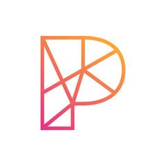 Letter P Symbol
