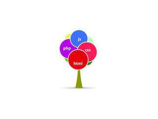 HTML icon art