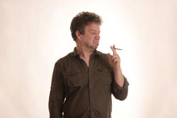 Tabak schmeckt nicht gut