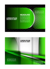 Tri-Fold Mock up Brochure Design