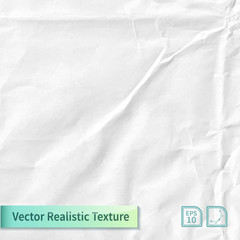 Vector wrapping paper photo texture with wrinkles for your design