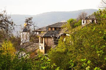 View of the historical village of Leshten, Bulgaria