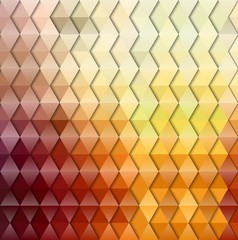 Abstract geometric triangular gradient background. Vector illustration.