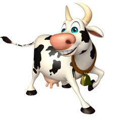 fun Cow funny cartoon character