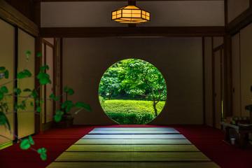 鎌倉 明月院 悟りの窓