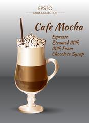 Coffee Mocha. Coctails