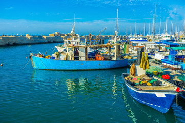 The boats of Jaffa