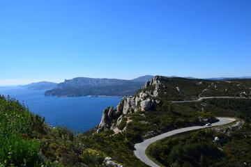Route du littoral Méditerranéen