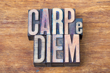 carpe diem wood