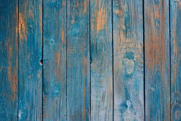 Rough blue wooden texture