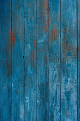 Rough blue wooden texture