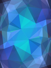 Blue color glass abstract background
