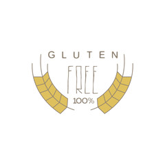 No Gluten Product Label
