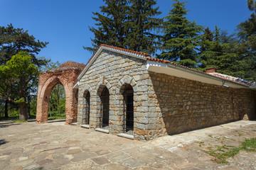 Ancient Thracian tomb in Kazanlak, Bulgaria