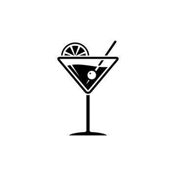 Martini glass sign