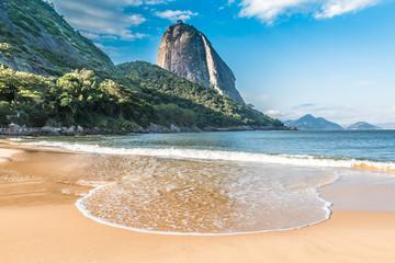 Printed kitchen splashbacks Rio de Janeiro Vermelha Beach in Rio de Janeiro, Brazil