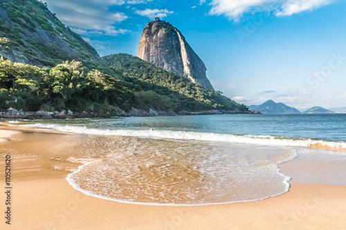Fototapete Vermelha Beach in Rio de Janeiro, Brazil
