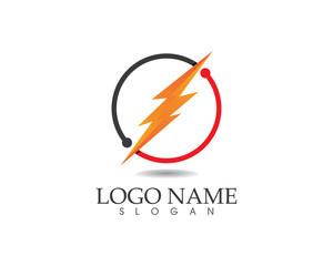 Power tunder bolt logo flash