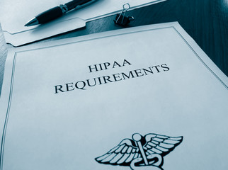 HIPAA Requirements documents
