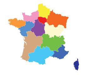 La nouvelle carte des régions de France