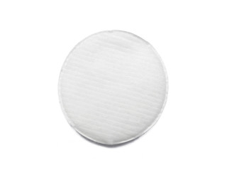Cotton pad isolated on white