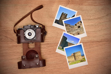 photos with medieval castle