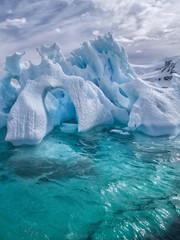 Foto auf Gartenposter Antarktika iceberg landscapes antarctica