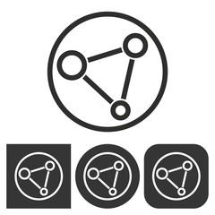 Network  - vector icon.