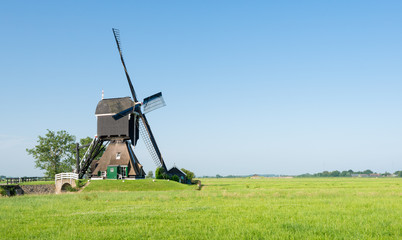 Polder mill in the Netherlands