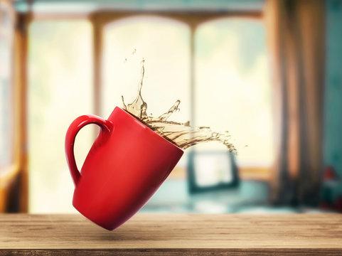 Spilled tea
