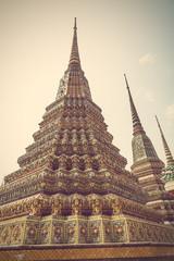 Wat Pho, The Temple of Reclining Buddha, Bangkok, Thailand