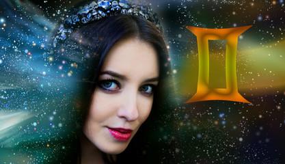 Gemini zodiac astrology woman