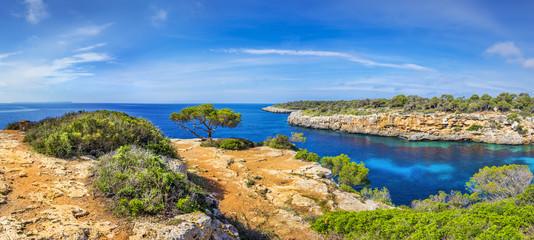 Famous cove of Cala Pi, Mallorca