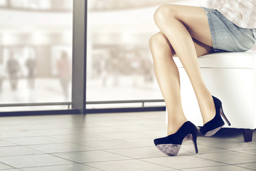 legs and heels and free place