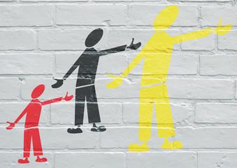 Art urbain, société multiculturelle
