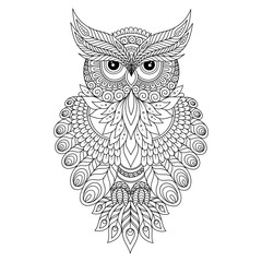 Decorative ornamental Owl.